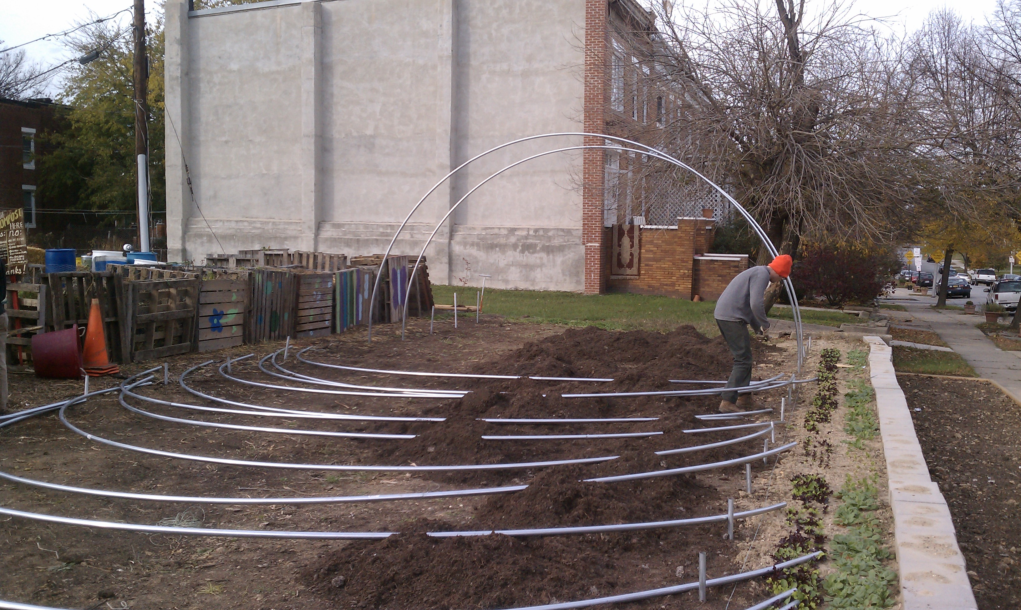 Hoop house plans house plans home designs for Simple greenhouse plans